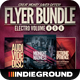 Electro Flyer/Poster Bundle Vol. 4-6 - GraphicRiver Item for Sale