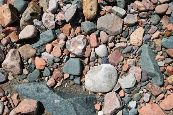 PhotoDune rounded rock background 3883709