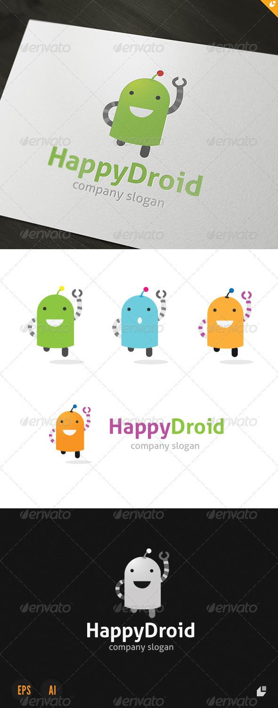 GraphicRiver Happy Droid Logo 3686504