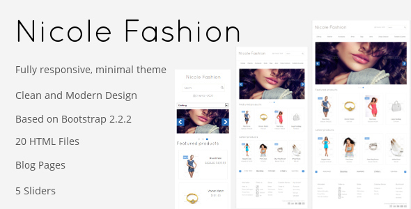 Nicole Fashion Responsive eCommerce Template