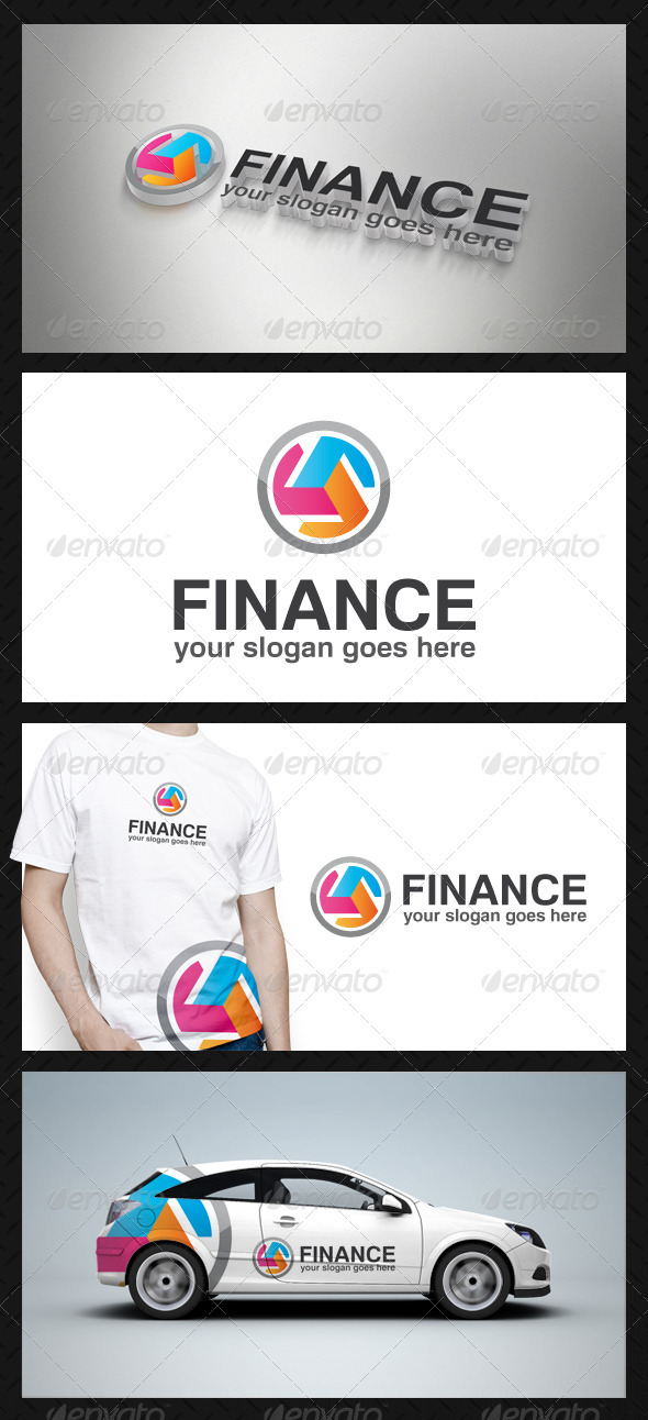 GraphicRiver Finance Logo Template 3777365