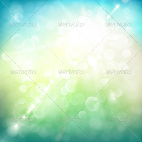 GraphicRiver Sunny Summer Day Background 3777469