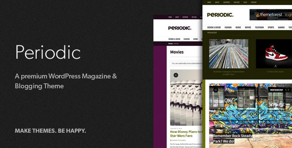 Periodic - A Premium WordPress Magazine Theme - News / Editorial Blog / Magazine