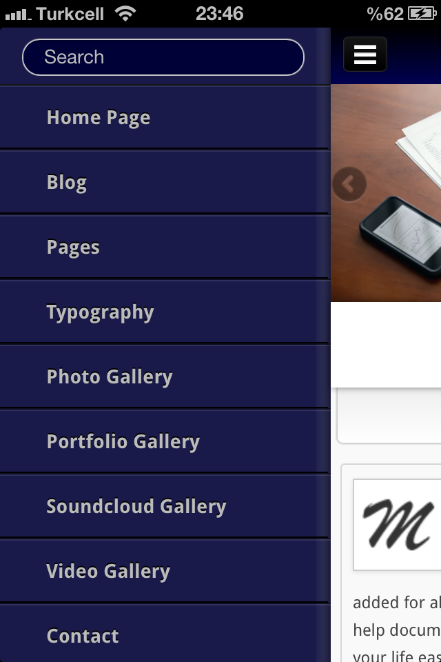 Mobit Mobile WordPress Template