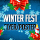 Winter Fest Flyer/Poster Template - GraphicRiver Item for Sale
