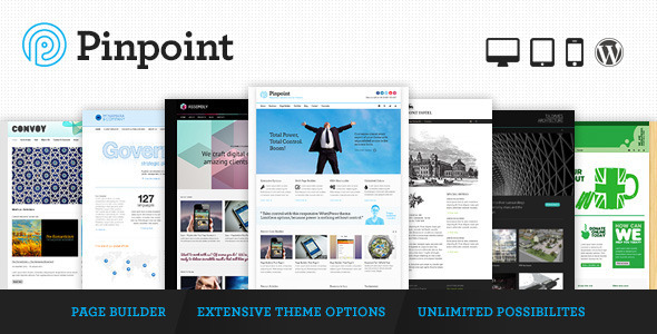 ThemeForest Pinpoint Responsive Multi-Purpose WP Theme 3760530