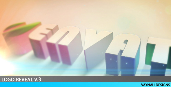 After Effects Project - VideoHive Logo Reveal v.3 HD 121325