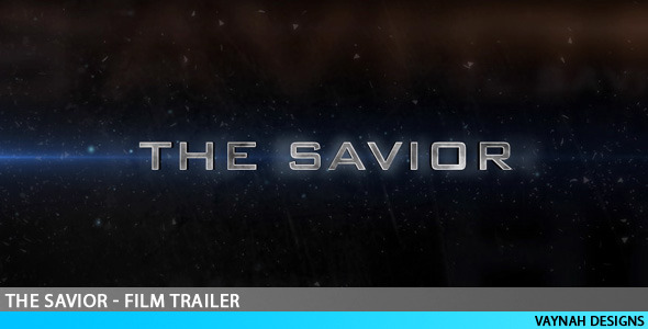 After Effects Project - VideoHive The Savior Film trailer HD 110390