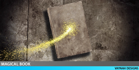 After Effects Project - VideoHive Magical book Intro HD 61338