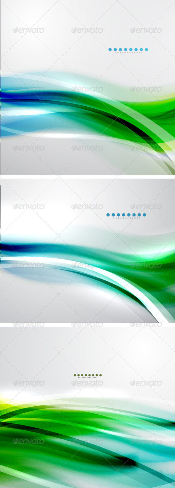 GraphicRiver Creative Smooth Wave Backgrounds 3780162