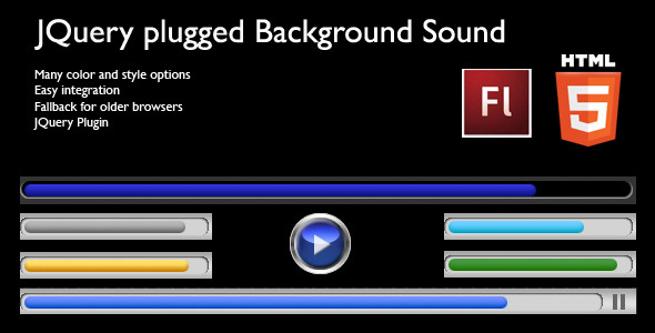 JQuery Plugged HTML5 Background Sound - CodeCanyon Item for Sale