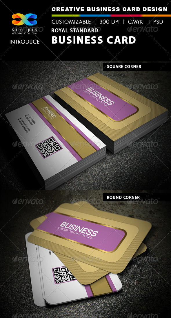Royal Standard Business Card - Creative Business Cards