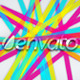 Colorful Lines - Elegant Logo Reveal with Flare - VideoHive Item for Sale