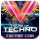 House Of Techno Flyer - GraphicRiver Item for Sale