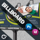 Green Life Business Billboard Roll-Up - GraphicRiver Item for Sale