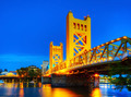 Golden Gates drawbridge in Sacramento - PhotoDune Item for Sale
