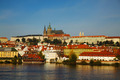 Overview of old Prague from Charles bridge side - PhotoDune Item for Sale