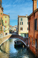 Narrow canal in Venice, Italy - PhotoDune Item for Sale