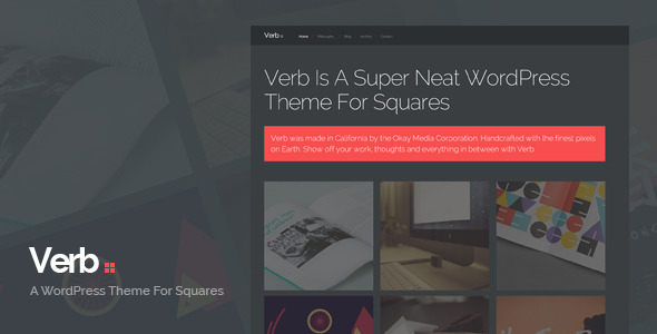 Verb WordPress Theme