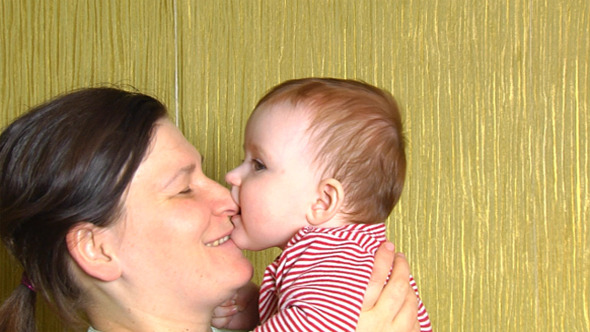 Mother And Baby 1 VideoHive Stock Footage  Kids 3788032