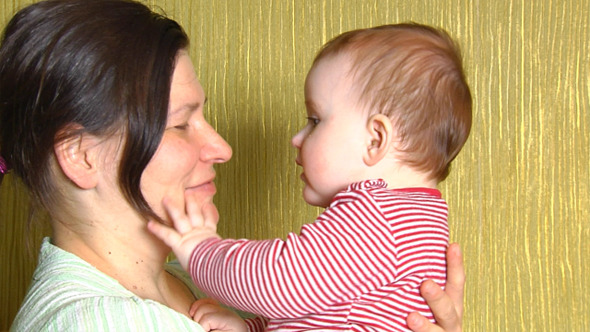 Mother And Baby 2 VideoHive Stock Footage  Kids 3788034