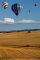 Hot-air Balloons over Tuscan Landscape - PhotoDune Item for Sale