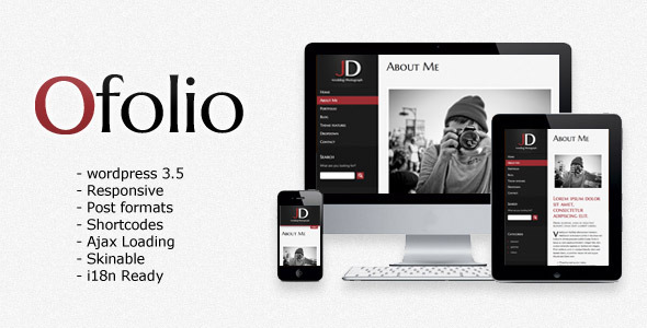 O'Folio - Wordpress Responsive Portfolio