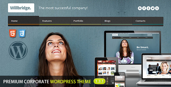 Willbridge - Premium Wordpress Theme - Business Corporate