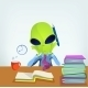 Funny Alien - GraphicRiver Item for Sale