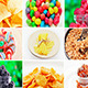 Collage of Many Food Ingredients - VideoHive Item for Sale