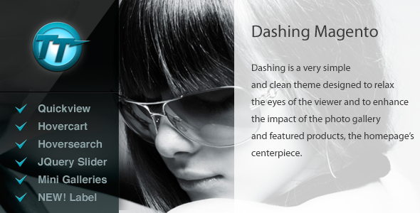 Dashing Magento