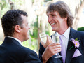 Gay Couple Toast Their Marriage - PhotoDune Item for Sale