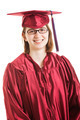 Smiling Female Graduate - PhotoDune Item for Sale