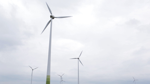Wind Turbines VideoHive Stock Footage  Nature 3793644