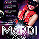 Mardi Bash - GraphicRiver Item for Sale
