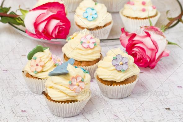PhotoDune decorated cupcakes 3795006