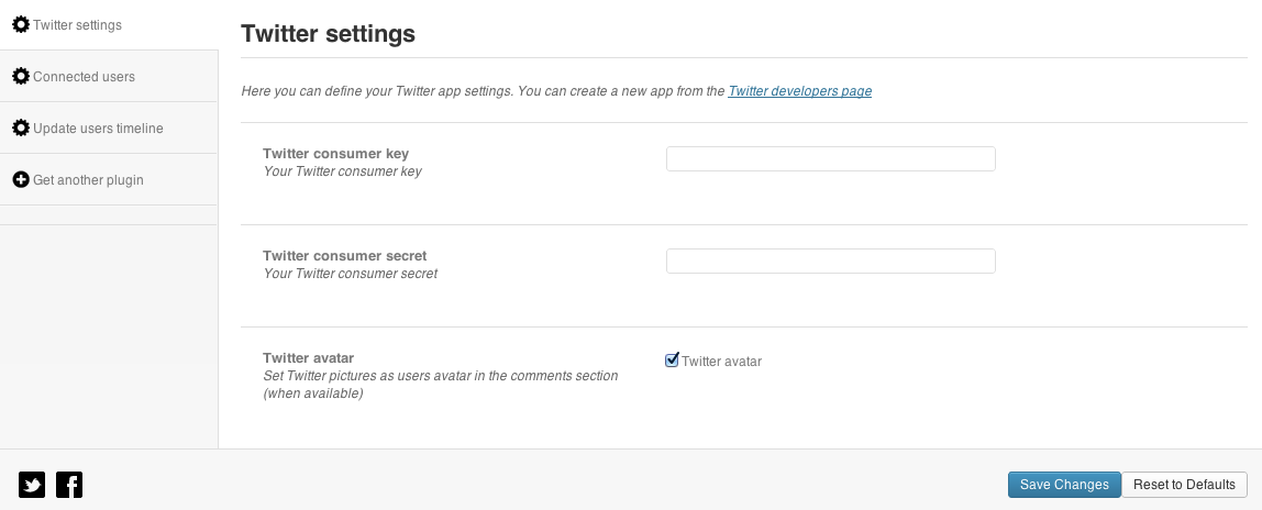 Twitter WPress Premium Plugin for WordPress
