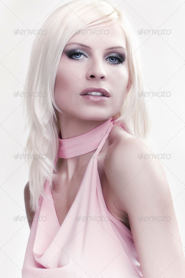 sexy blonde girl - Stock Photo - Images