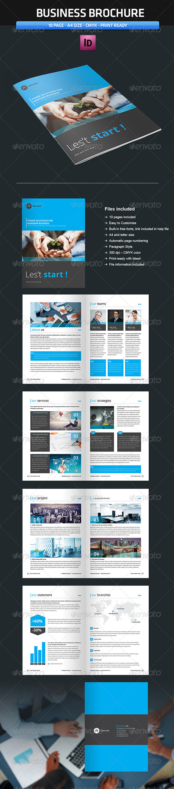 GraphicRiver Business Brochure Vol2 3800626