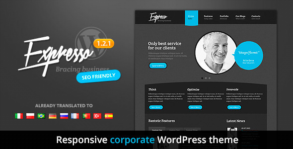 Expresso - Premium Responsive Corporate Theme - Corporate WordPress