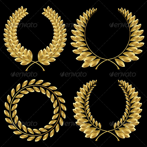 GraphicRiver Laurel wreath 3801995