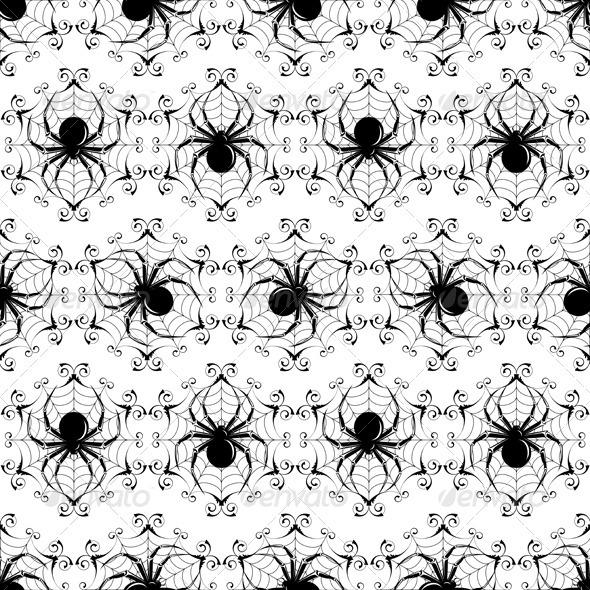 GraphicRiver Halloween Seamless 3802195