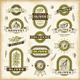 Vintage Olive Labels Set - GraphicRiver Item for Sale