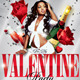 Valentine's Day Party Flyer Templates - GraphicRiver Item for Sale