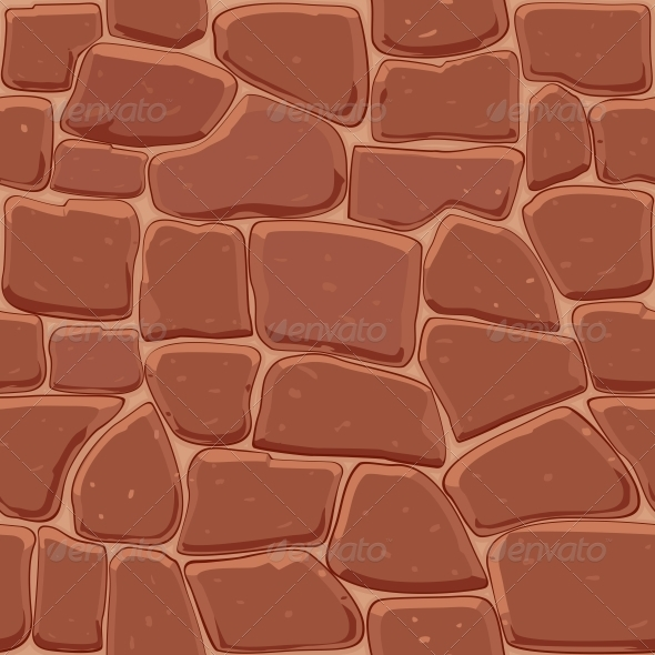 GraphicRiver Brown Stone Seamless Background 3803874