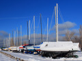 Sailboats Stored For The Season - PhotoDune Item for Sale