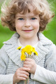 Child with bunch of dandelion - PhotoDune Item for Sale