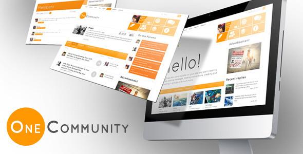 ThemeForest OneCommunity BuddyPress Theme 3713046