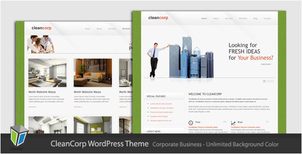 Cleancorp - Corporate Business WordPress Theme