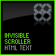 Invisible Scroller with html text - ActiveDen Item for Sale